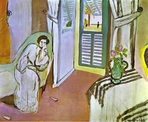 Henri-Matisse-Woman-on-a-Sofa-